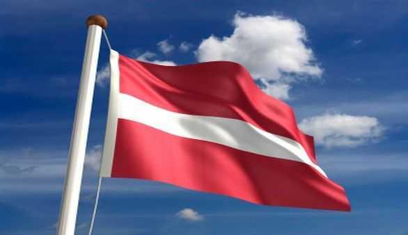 Flagge von Lettland