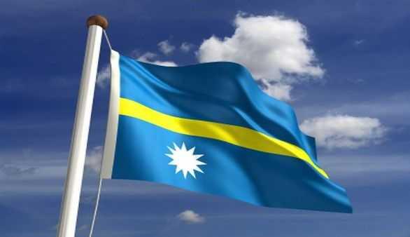 Flagge von Nauru