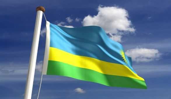 Flagge Ruandas