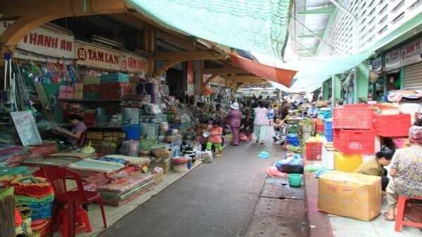 Markt in Vietnam