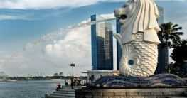 Merlion in Singapur